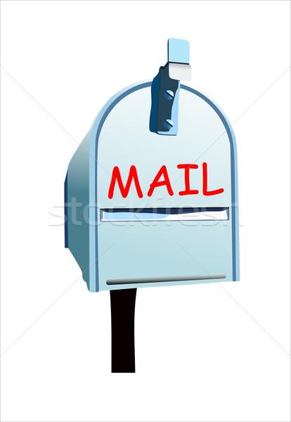 メールボックス ボックス メール 手紙 絵画 倉庫 ストックフォト © mitay20