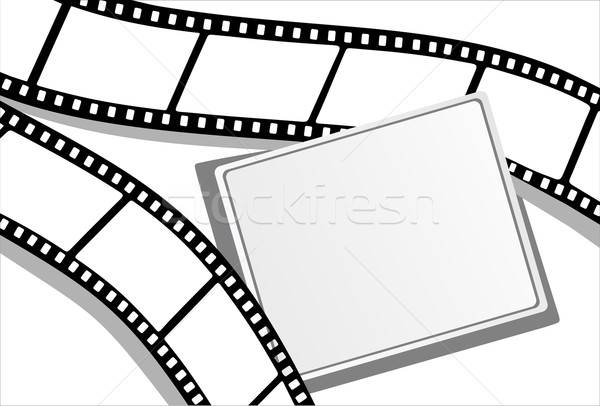 Szett film keret film videó szín Stock fotó © mitay20