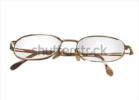眼鏡 眼 背景 フレーム 読む 現代 ストックフォト © mitay20