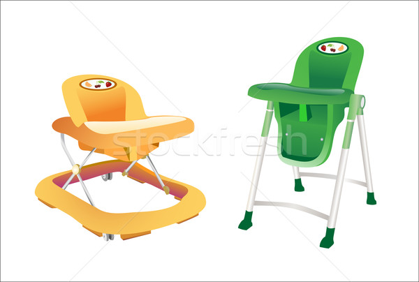 Baby's walker for toddlers. Stock photo © mitay20
