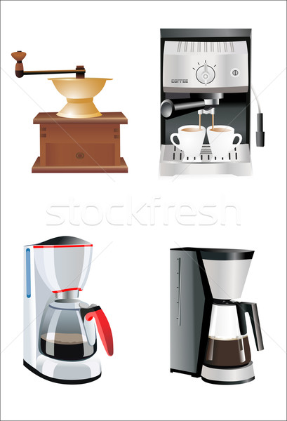 Coffee preparation Stock photo © mitay20