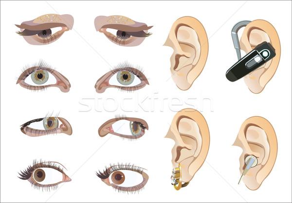 eyes and ears Stock photo © mitay20