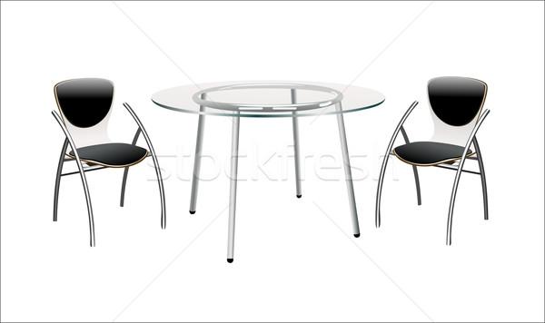 表 チェア 家 背景 椅子 ストックフォト © mitay20