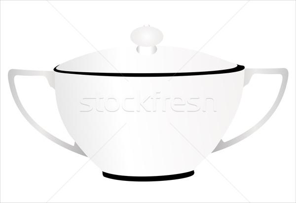 Forró leves étel étterem főzés szerszám Stock fotó © mitay20