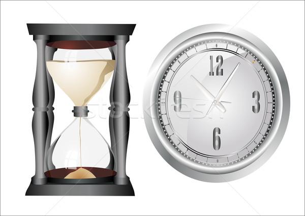 クロック セット オフィス デジタル タイマー ストップウオッチ ストックフォト © mitay20