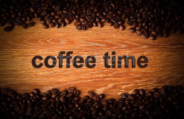 coffee background Stock photo © mizar_21984