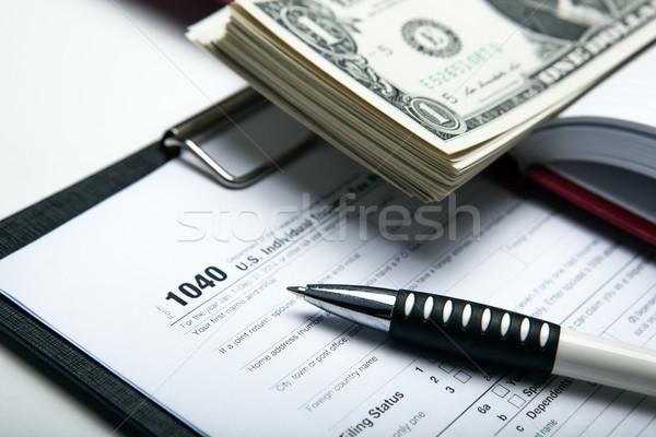 accounting in the money Stock photo © mizar_21984