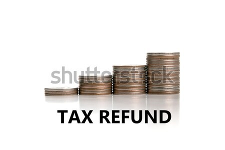 Metafora fizetés adózás orosz cím adó Stock fotó © mizar_21984