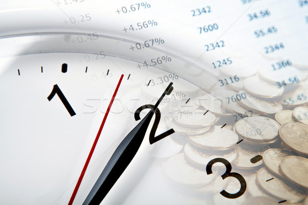 Russo moedas dígitos negócio Foto stock © mizar_21984