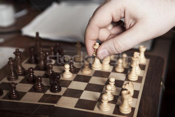 Move Chess Piece Player Stock photo © mizar_21984