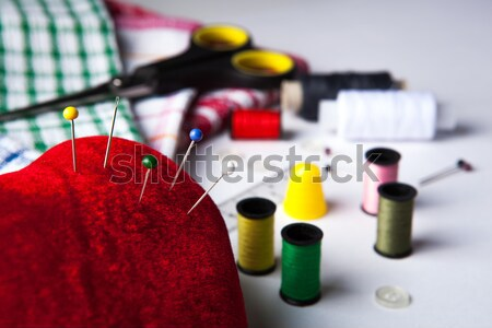 needles with other sewing Stock photo © mizar_21984