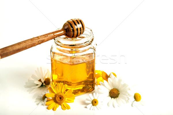 still life of honey Stock photo © mizar_21984