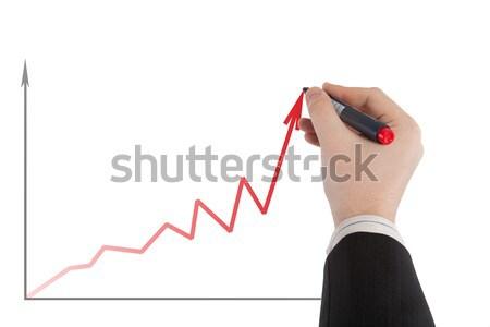 diagram business up cells Stock photo © mizar_21984
