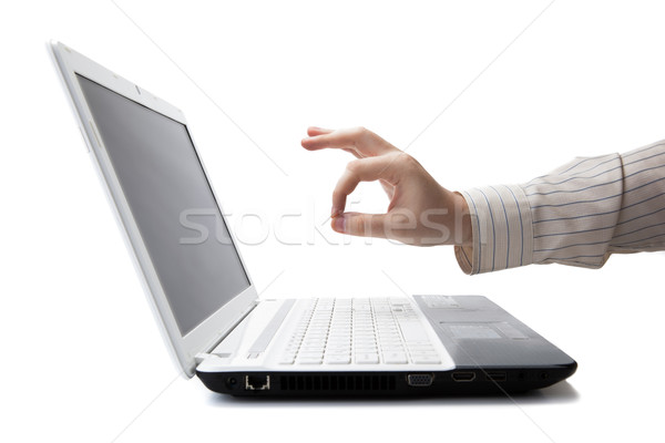 man's hand showing OK sign Stock photo © mizar_21984