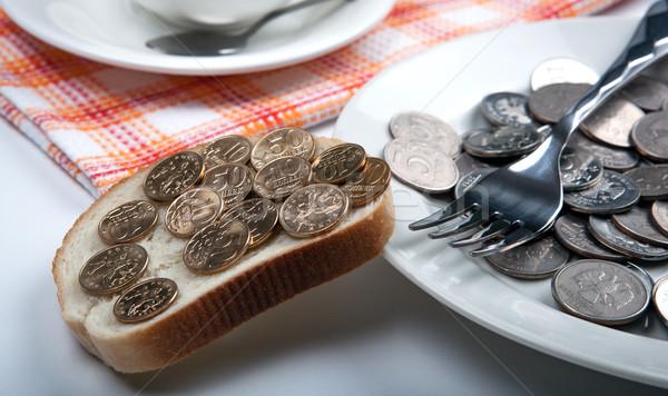 still life of money Stock photo © mizar_21984