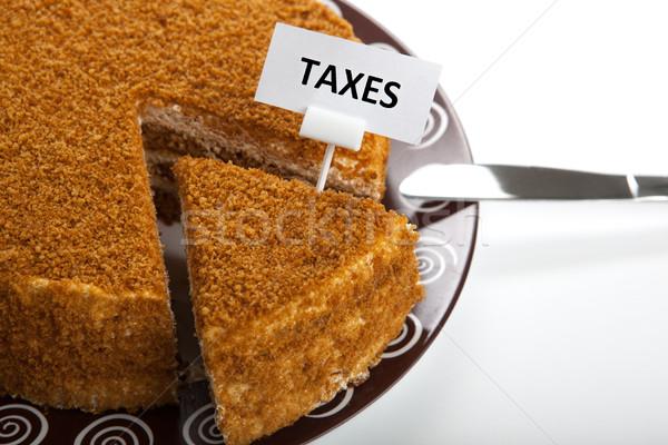 metaphor for the payment of taxes Stock photo © mizar_21984