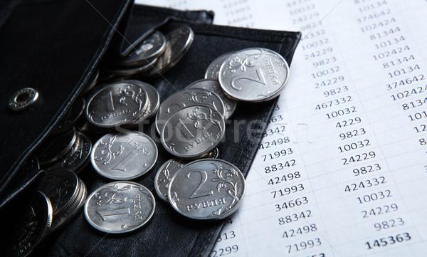 Accounting and Russian money Stock photo © mizar_21984