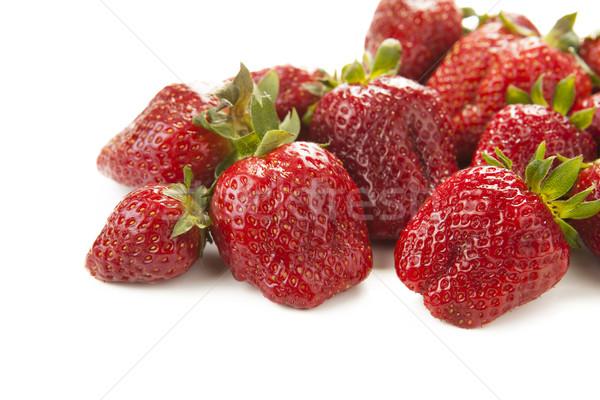 handful of strawberries  Stock photo © mizar_21984