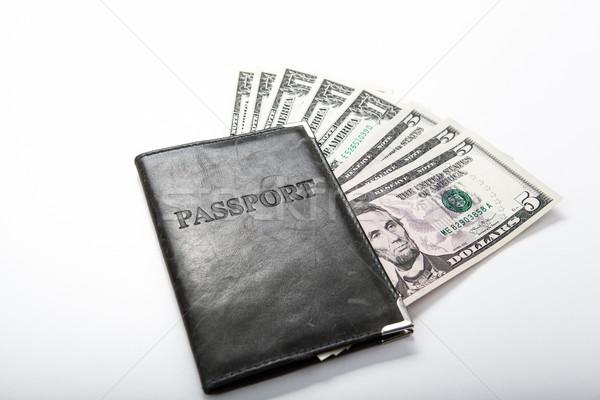 за границей деньги паспорта путешествия Сток-фото © mizar_21984