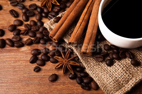 coffee still life Stock photo © mizar_21984