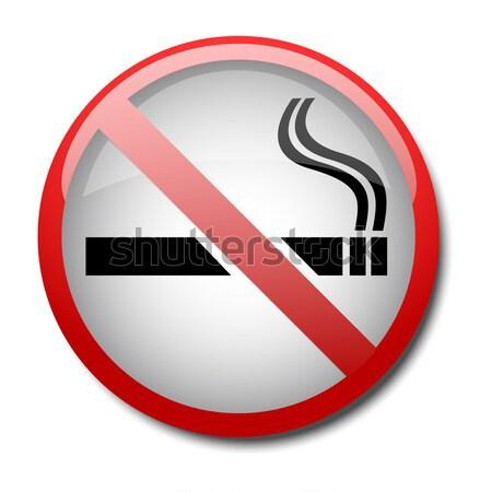 sign no smoking 2d Stock photo © mizar_21984