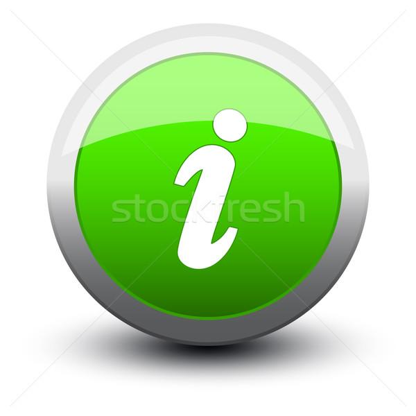 button info 2d Stock photo © mizar_21984