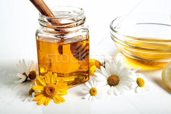 still life of honey Stock photo © mizar_21984