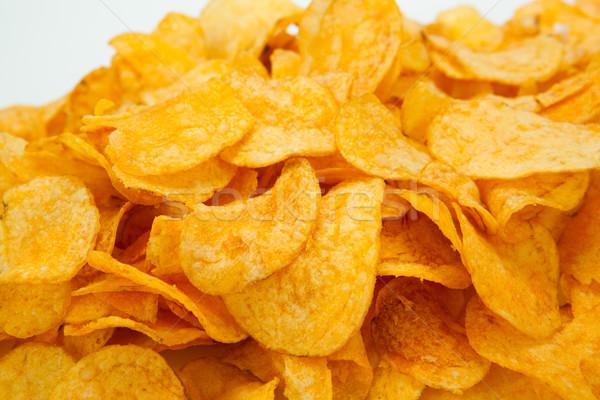 handful of potato chips Stock photo © mizar_21984