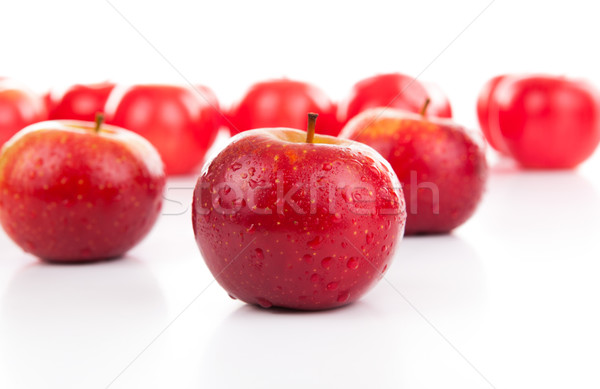 red apples closeup Stock photo © mizar_21984