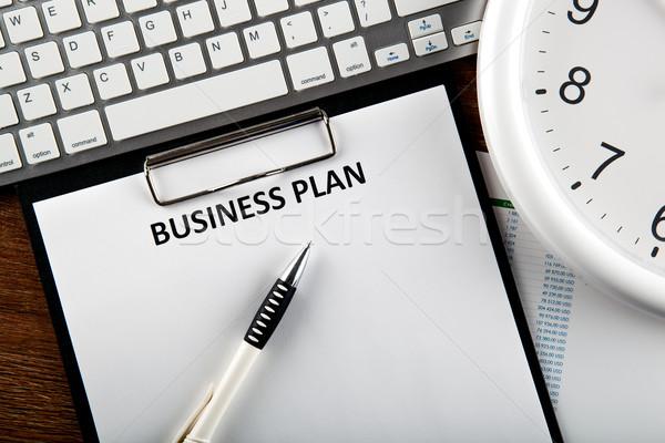 бизнеса натюрморт плана документа название Сток-фото © mizar_21984