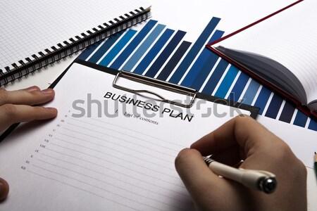 Stock fotó: Tömés · adó · visszatérés · asztali · irodai · munka · közelkép
