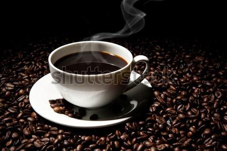 Кубок черный кофе кофе продовольствие Сток-фото © mizar_21984