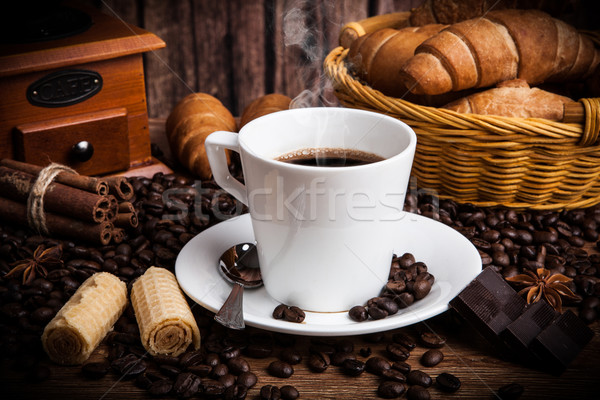 Coffee still life with cup of coffee Stock photo © mizar_21984