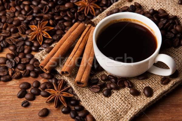 coffee still life Stock photo © mizar_21984