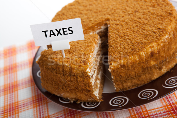 metaphor for the payment of taxes Stock photo © mizar_21984
