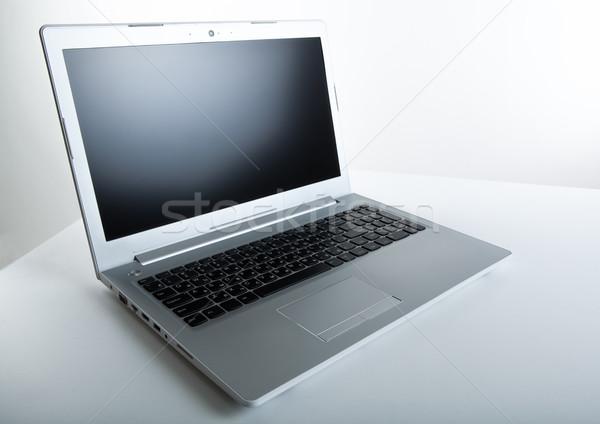современных ноутбука таблице серый компьютер интернет Сток-фото © mizar_21984