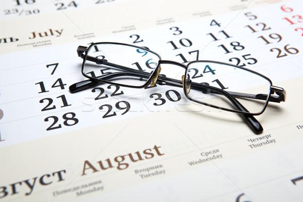Business still life with eyeglasses Stock photo © mizar_21984