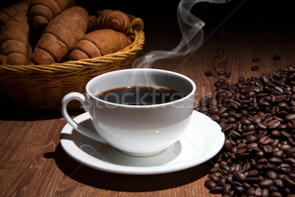 coffee sill life with cup of coffee Stock photo © mizar_21984