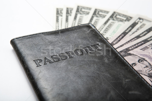 traveling abroad with money Stock photo © mizar_21984