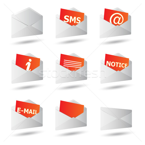 icon convert set 3d Stock photo © mizar_21984
