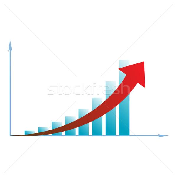 arrow diagram business Stock photo © mizar_21984