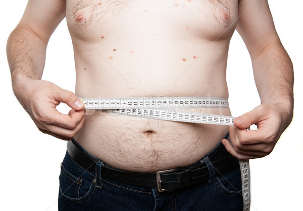 concept of weight loss and diet Stock photo © mizar_21984