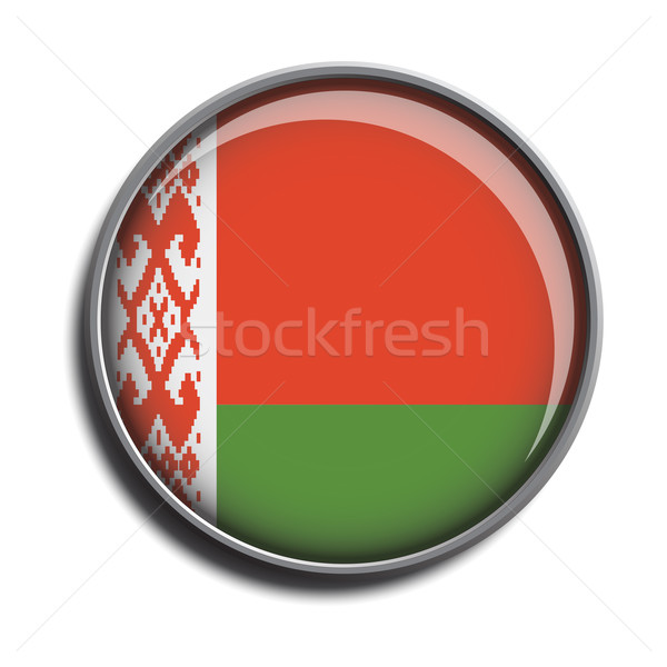 flag icon web button belarus Stock photo © mizar_21984