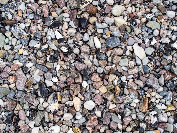 Grava guijarros playa fondo rock piedra Foto stock © mobi68