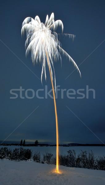 Long-term exposition of a firework Stock photo © mobi68