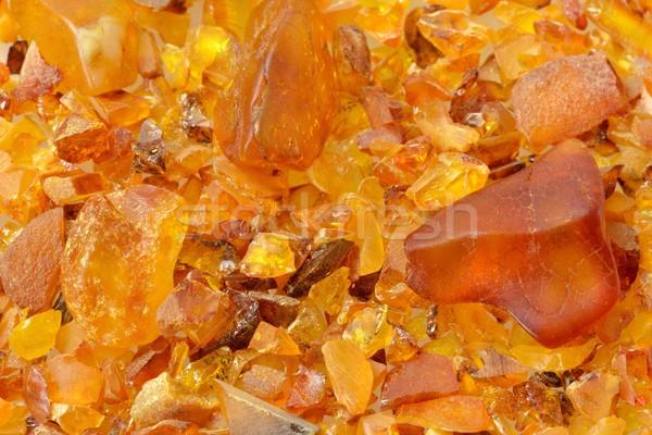 âmbar monte diferente peças fundo jóias Foto stock © mobi68