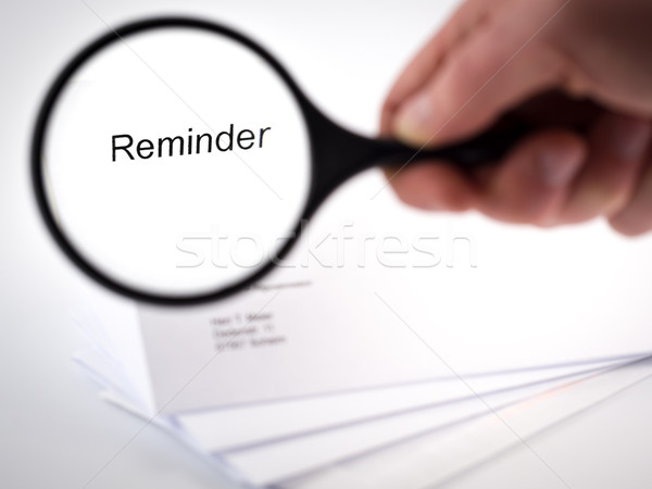 Reminder Stock photo © mobi68