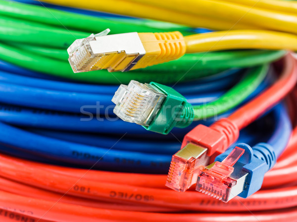 Network cable Stock photo © mobi68