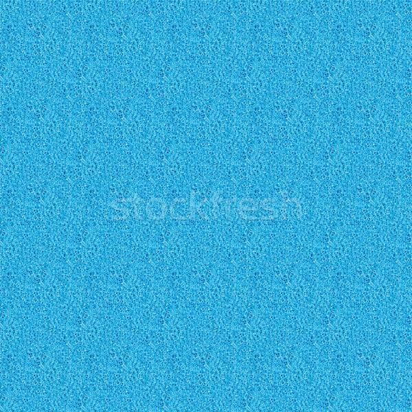 Blue sponge - seamless tileable texture Stock photo © mobi68