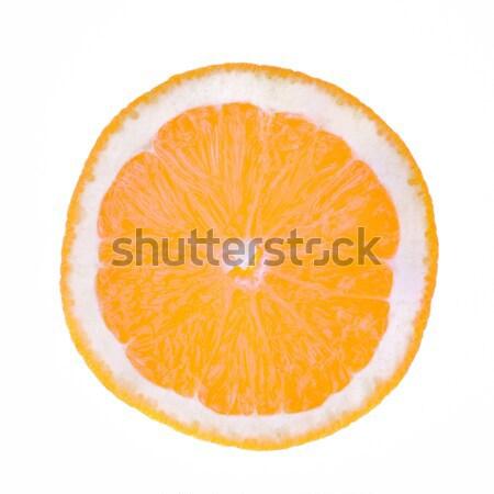 Rodaja de naranja rebanada naranja alimentos frutas beber Foto stock © mobi68